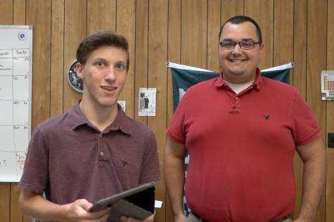 Justin Lescavage hosts this episode as chemistry teacher Mr. Bricker battles the clock.