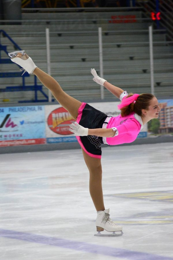 """Figure Skating has always been something I enjoyed, but I wouldn't be as successful without the help of my mom. Her motto is """"Surround yourself with those who lift you higher."""""""