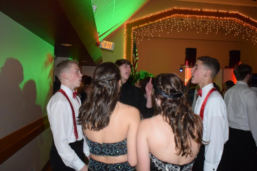 Students+attend+the+yearly+Christmas+Prom+at+Hillcrest+Hall+in+Minersville.+%22I+really+enjoyed+prom%2C%22+sophomore+Grace+Mongrain+said.+%22I+thought+the+music+choices+were+very+good+and+my+overall+experience+was+pretty+awesome.+I%27m+definitely+excited+for+proms+in+the+following+years.%22
