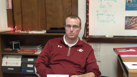 Teachers and students answer questions about their Christmas breaks.
