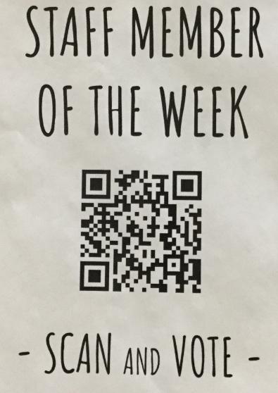 Students choose weekly