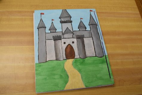 In Creative Writing, students wrote and created their own fairytale books.