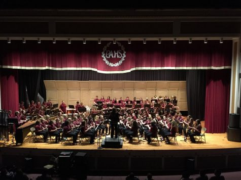 Lengel bands entertain with spring concert