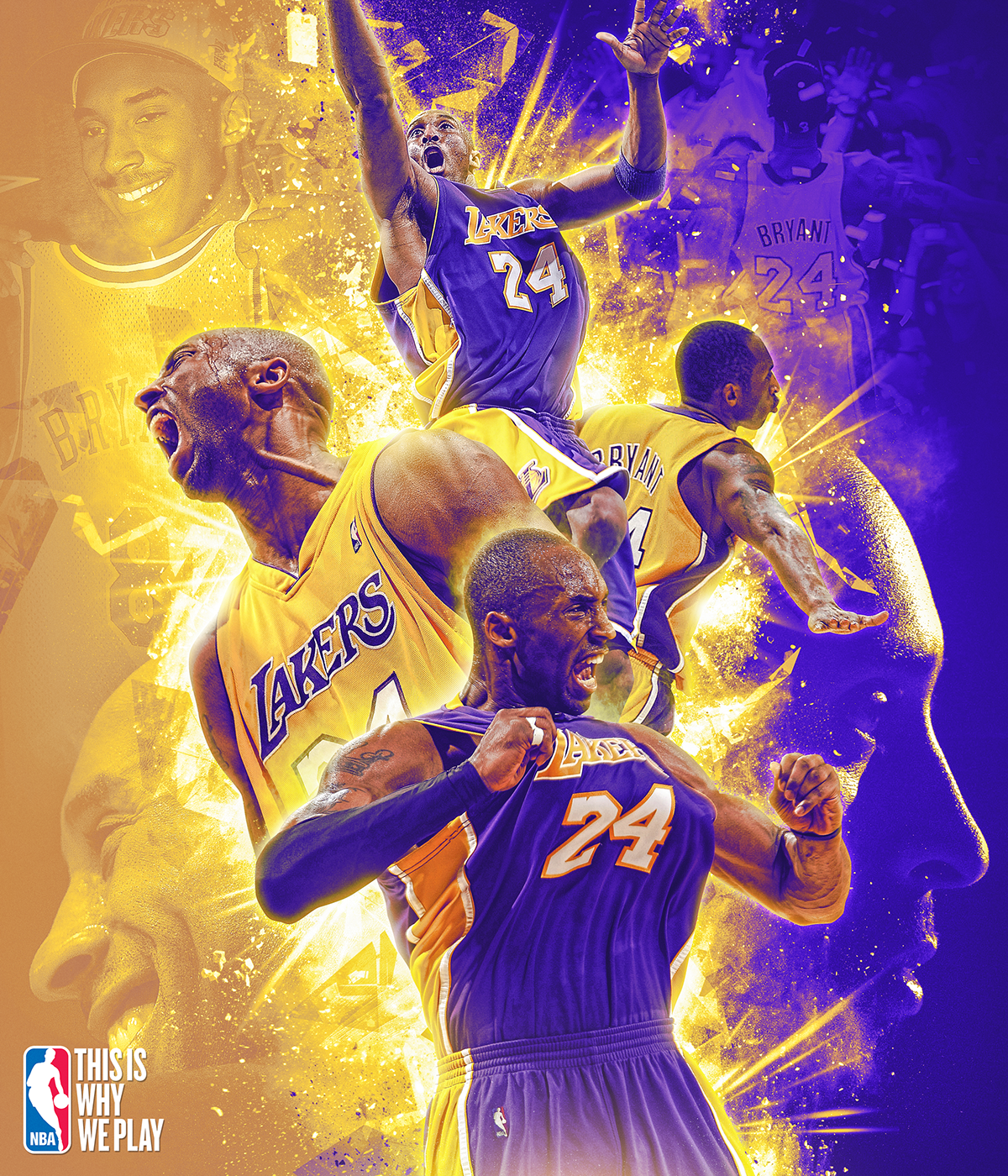 """Kobe Bryant was an inspiration to many people. His dedication to the game of basketball will be forever remembered. """"Kobe Bryant has impacted the game of basketball for me by giving all of his love, dedication, and commitment to the game. His commitment and dedication isn't just a game, it's a lifestyle. The passing of Kobe, his daughter Gigi, as well as the others will always remind me to cherish what I have because it could end any day,"""" said freshman Tayla Jones."""
