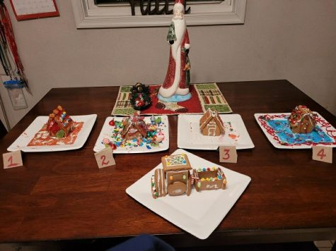 "Making gingerbread houses during the holiday season is a popular tradition for many students. During the break, several people decided to decorate them. ""Making gingerbread houses is a fun way to express my creativity,"" said graduate Gavin Holley."