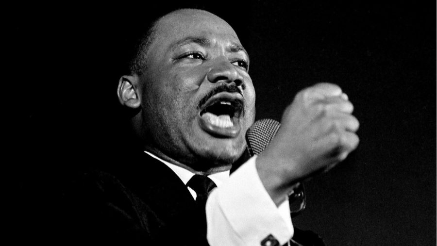 Reverend+Martin+Luther+King+Jr.+shakes+his+fist+at+a+speech+in+Selma%2C+Alabama++Feb.+12%2C+1965.+His+sermons+and+speeches+have+inspired+today%27s+social+justice+leaders.+%E2%80%9CToday+I+want+to+tell+the+city+of+Selma%2C+today+I+want+to+say+to+the+state+of+Alabama%2C+today+I+want+to+say+to+the+people+of+America+and+the+nations+of+the+world%2C+that+we+are+not+about+to+turn+around.%E2%80%9D%0A