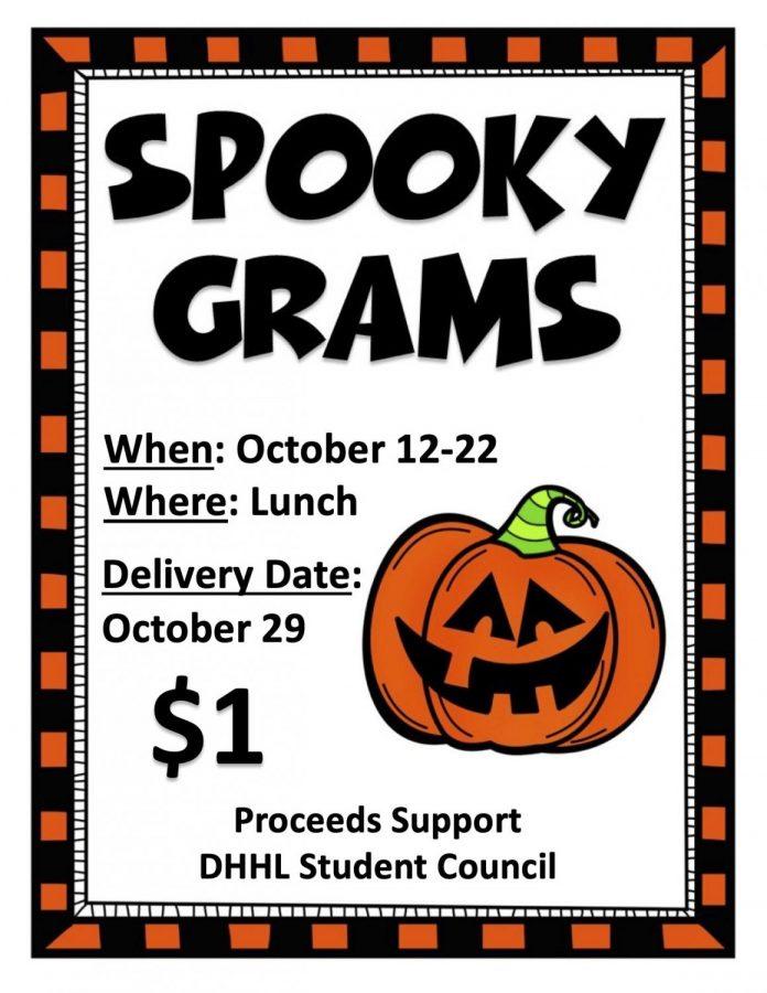 Spooky Grams for sale at Lengel